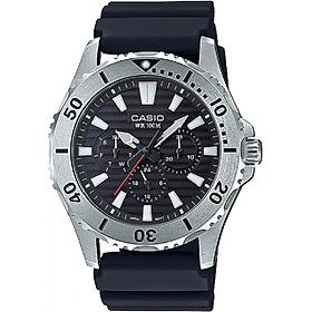 Đồng hồ nam Casio dây nhựa MTD-1086-1AVDF (45mm)