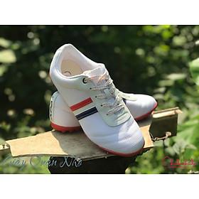 Giày đá bóng Thành Phát TP-11 (38-43) trẻ trung bền đẹp màu trắng