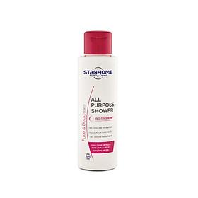 Sữa tắm, rửa mặt không xà phòng cho da thường, da hỗn hợp, da dầu mụn, da nhạy cảm Stanhome All Purpose Shower Mini Travel 100ml