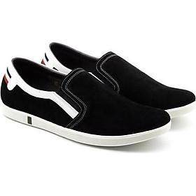 Giày sneaker nam da lộn (da bò) VO HT_113