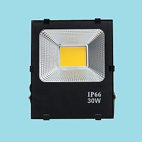 Đèn pha LED 30W sáng vàng FACOB-BL-30