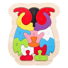 Đồ Chơi Gỗ Ghép Hình Puzzle Tottosi Mèo 303004 (10 Mảnh Ghép)