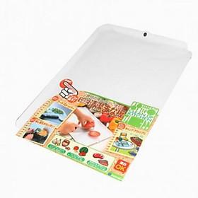 Hình đại diện sản phẩm Thớt dẻo cao cấp có viền ( màu trắng) - Hàng Nội Địa Nhật
