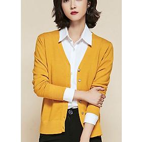 Áo cardigan len nữ basic chất đẹp
