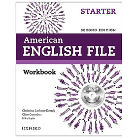 American English File (2 Ed.) Starter: Workbook And IChecker - Paperback