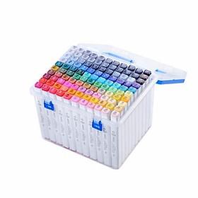 Bút màu Marker Touch Touchliit 6 loại hộp nhựa 30/40/60/80 màu