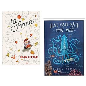 Combo 2 cuốn văn học thiếu nhi : Hai Vạn Dặm Dưới Biển + Từ Anna