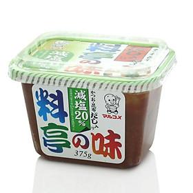 Miso Dashi trộn sẵn Marukome (Cắt giảm 20% muối) - 375g