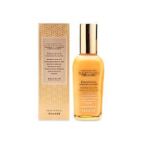 Sữa dưỡng da và ngừa lão hóa Beauskin Placenta Gold Emulsion Vegetable 145ml - Hàn Quốc Chính Hãng