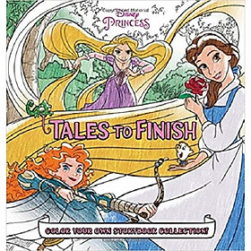 Disney Princess Storybook Collection: Tales To Finish Color Your Own Storybook Collection
