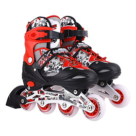 Giày Trượt Patin Longfeng 906 Đại Nam Sport LF906 - Đỏ