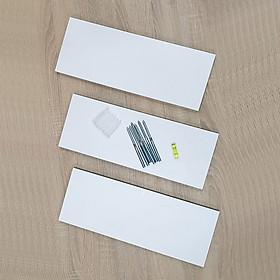 Kệ Treo Tường 3 Thanh Ngang SIB DECOR Dài 40cm x Sâu 15cm (Màu trắng, đen, vân gỗ sồi)