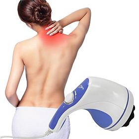 Máy Massage Cầm Tay giảm mỡ toàn thân hiệu quả (Tặng kèm 1 áo dán nâng ngực hình bàn tay nâng-giao mẫu ngẫu nhiên)