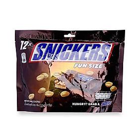 Socola Snickers funsize 240g - 03778