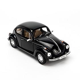 Mô hình xe Volkswagen Classic Beetle Black 1:24 Welly - 22436