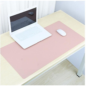 Mouse Mat Large Laptop Pad Ultra-smooth Surface Mousepad Comfortable for your Wrists Pink