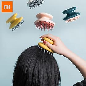 Lược gội đầu bằng silicon Xiaomi Wu Ming,Bàn chải mát xa cơ thể,Bàn chải massage da đầu, bàn chải tắm toàn thân