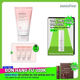 Sữa Rửa Mặt Dưỡng Sáng Hoa Anh Đào Innisfree Jeju Cherry Blossom Jam Cleanser 150g - 131173171