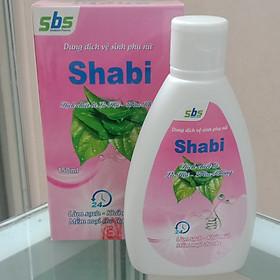 Dung dịch vệ sinh phụ nữ SHABI với dịch chiết lá lô hội và tràu không làm sạch, khử mùi, mềm mại cho da