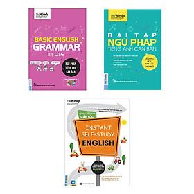 Combo Tự Học Ngữ Pháp Tiếng Anh Cho Người Bận Rộn