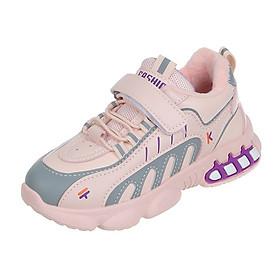 Giày Thể Thao Bé Gái Từ 2 - 15 Tuổi Màu Hồng