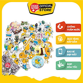 Finn and Jake - Set 30 sticker hình dán