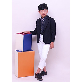 Áo vest cotton tây đen bé trai Jadiny AVT010