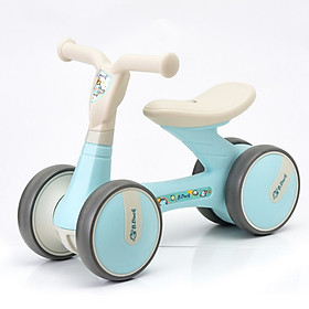 Le Luddy baby walker scooter children's slide car balance car yo car baby bicycle baby toy car birthday gift rollover Jingdong custom Macarons blue