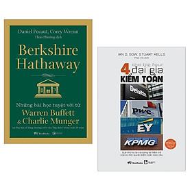 Combo The Big Four - 4 Đại Gia Kiểm Toán + Berkshire Hathaway (Bộ 2 Cuốn)