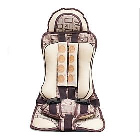 Địu ghế ngồi an toàn cho em bé trên ô tô - đai ghế an toàn trẻ em