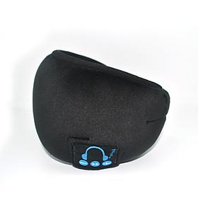 Sleep Headphones Bluetooth Sleep Mask Wireless Bluetooth Sleeping Eye Mask Headphones Travel Eye Shades With Built-In Speakers Microphone Handsfree