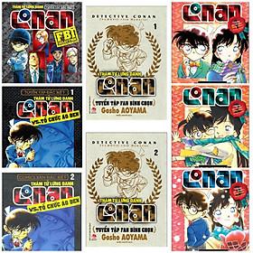 Combo Trọn Bộ CONAN ĐẶC SẮC: Conan và Tổ chức Áo Đen (Tập 1, 2) + Conan Tuyển Tập Đặc Biệt - FBI Selection + Conan Tuyển Tập Fan Bình Chọn (Tập 1, 2) + Conan Những Câu Chuyện Lãng Mạn (Tập 1,2,3) - Bộ 8 Cuốn/ Tặng Kèm Postcard Green Life
