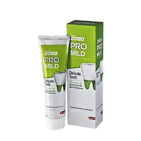 Kem đánh răng cao cấp chuyên biệt chống ê buốt răng nhạy cảm cao 2080 PRO MILD SENSITIVE 125g - Hàn Quốc Chính Hãng
