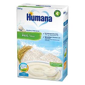 Bột Dinh Dưỡng Ăn Dặm Humana Gạo Sữa (200g)