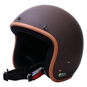 Mũ Bảo Hiểm Chita CT1 Tem Brown-Cony (Size M)
