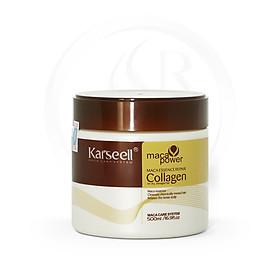 Kem Ủ Tóc Collagen Karseell Maca 500ml (Hủ)