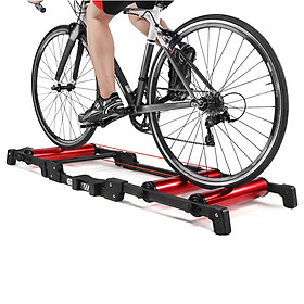 Foldable Bike Trainer Stand Indoor Stationary Cycling Roller Trainer MTB Mountain Bike Road Bicycle Exercise Station