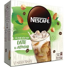 Bộ 2 Hộp Cà Phê Hòa Tan Nescafé Latte Sữa Hạt Vị Hạnh Nhân (Hộp 10 Gói X 24g)