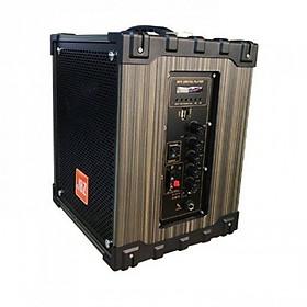 Loa Kéo Di Động âm thanh đỉnh cao hát karaoke đa năng JBZ thùng gỗ 2 tấc NE-106 - Tặng kèm mic không dây - Hàng nhập khẩu