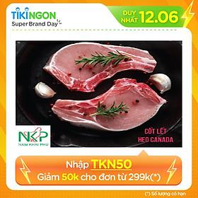 [Chỉ Giao HCM] - CỐT LẾCH HEO CẮT ĐÔNG LẠNH NKP 1kg