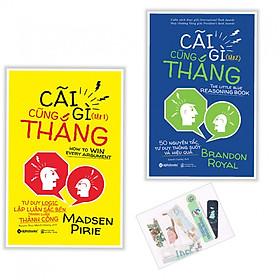Combo Cãi Gì Cũng Thắng (Tập 1 + 2) - Tặng kèm bookmark PĐ