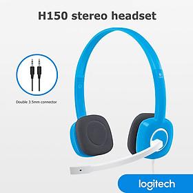 Tai nghe có dây H150 của Logitech Gaming Stereo Tai nghe 3,5 mm kép có MIC cho Máy tính để bàn