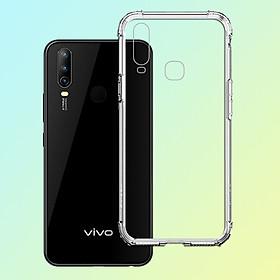 Ốp Lưng Chống Sốc cho Vivo U10 - 04089 Dẻo Trong - Hàng Chính Hãng