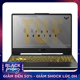Laptop ASUS TUF Gaming A15 FA506IU-AL127T (AMD Ryzen 7 4800H/ 8GB DDR4 3200MHz/ 512GB SSD M.2 PCIE G3X2/ GTX 1660Ti 6GB GDDR6/ 15.6 FHD IPS, 144Hz/ Win10) - Hàng Chính Hãng