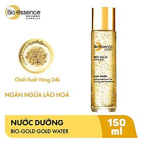 Nước Dưỡng Ngăn Ngừa Dấu Hiệu Lão Hóa Chiết Xuất Vàng Sinh Học 24K Bio-Gold Bio-Essence (150ml)