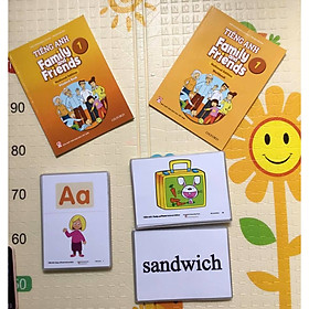 Flashcard Family and Friends National Edition 1