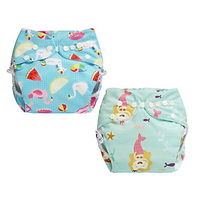 Tã vải BabyCute ban Đêm Siêu chống tràn - Mua 2 bộ tã size L (14-24kg) - Tặng 1 bỉm Cotton size 3 (15-20kg) - Giao mẫu ngẫu nhiên-6
