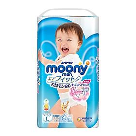 Tã quần Moony siêu thoáng Boy-0