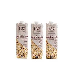 Combo 3 hộp sữa hạt dẻ 1L 137 Degrees Thái Lan
