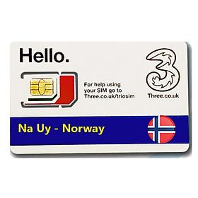 Sim Du lịch Na Uy - Norway 4G tốc độ cao